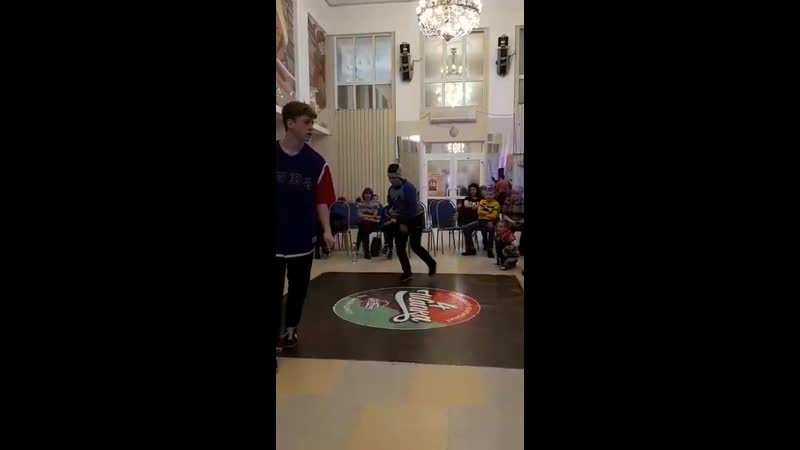 «ШАПКА-4» bgirl ЭНИКА VS bboy Big Bro