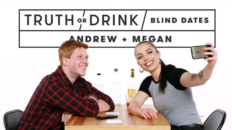 Blind Dates Play Truth or Drink (Andrew Megan)   Truth or Drink   Cut