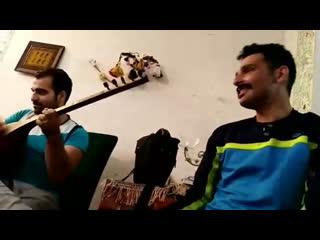 Кашкайцы исполняют песню «Daşlı qala»