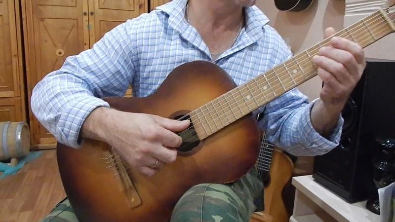 Гитара семиструнная Шиховской фабрики 1978 г.