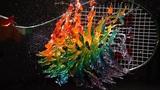Rainbow Jelly Tennis - The Slow Mo Guys