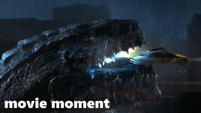 Годзилла (1998) - Во рту Годзиллы (9/10) | movie moment