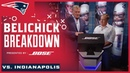 Belichick breaks down the James White TD more big plays vs. Colts