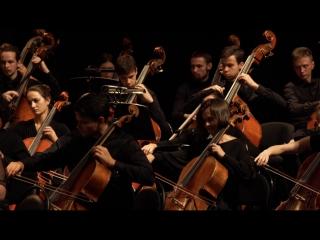 Концерт Российского национального молодежного симфонического оркестра в кино-холле ВГИК.