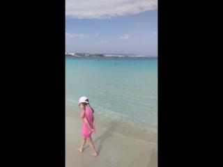 Пляж Макрониссос Кипр Айя Напа
