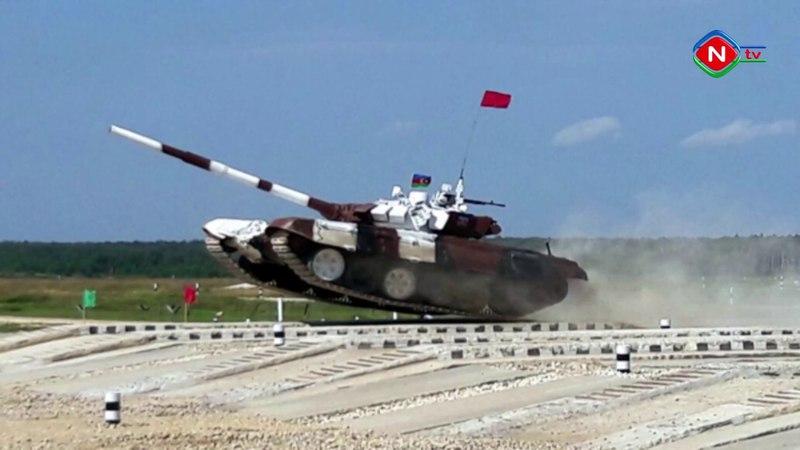 Əlahiddə Ümumqoşun Ordunun tankçıları birinci olublar