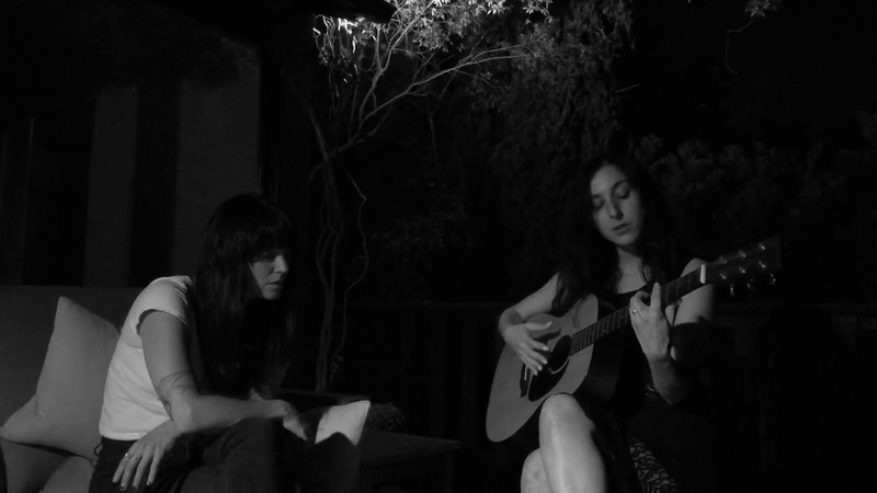 Marissa Nadler I Can't Listen to Gene Clark Anymore Live with Sharon Van Etten