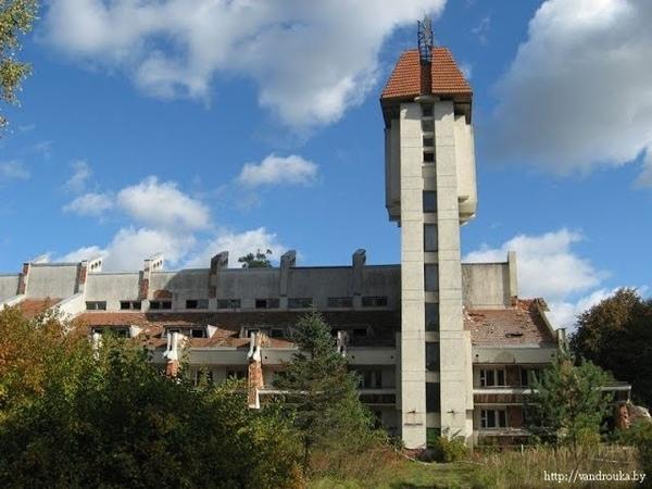 ИвенецРадиоактивный санаторий ЛесноеЧистая зона с повышенным фоном