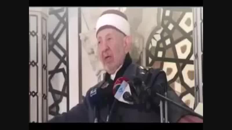 Последняя проповедь Рамазана аль Бути и дуа.