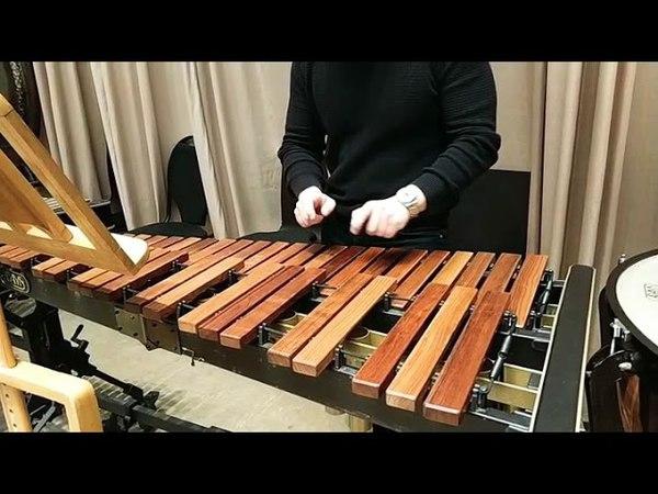 Ed Sheeran Shape of you marimba cover