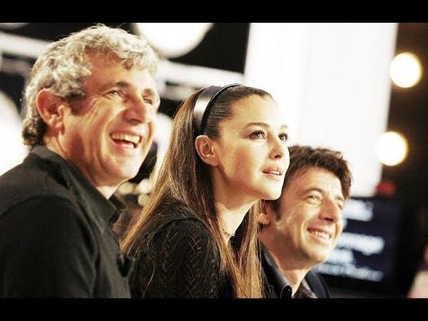 Monica Bellucci, Patrick Bruel et d'autres à la télévision française