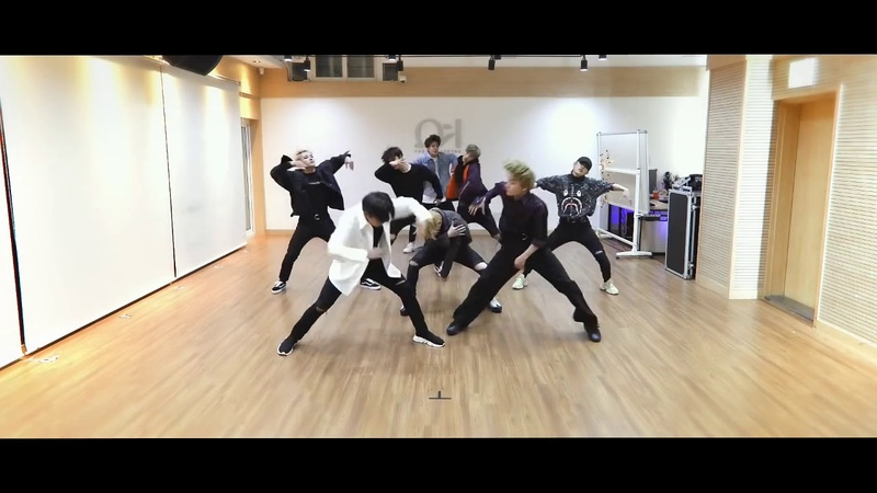 ATEEZ Pirate king Dance Practice (mirrored version)