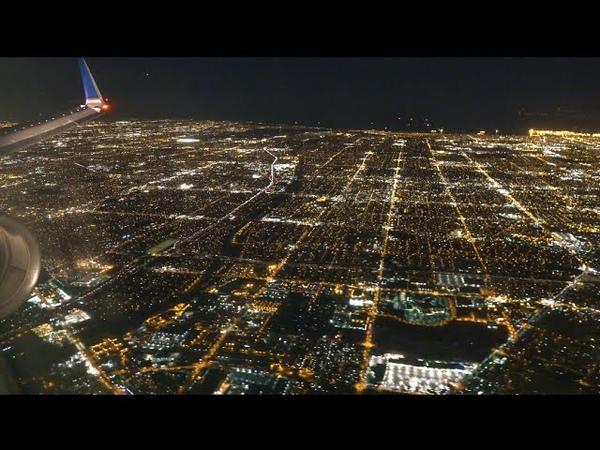 United Boeing 757 300 Turbulence Sea of Lights from Kailua Kona to Los Angeles