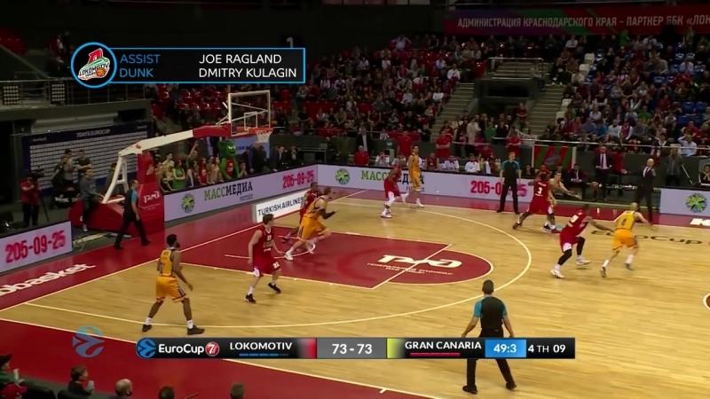 Топ 5 данков четвертьфиналов Еврокубка