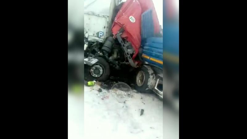 Ужасная авария около Исаково