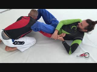 Triangle _ arm bar combo from double unders