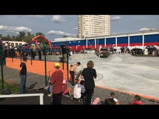Цех - строительство скейтпарков и сноупарков — Live