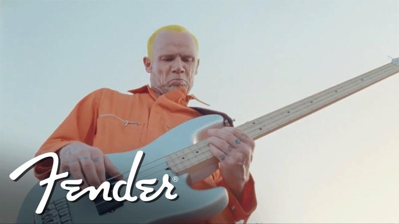 Flea Performs Maggot Brain on his Signature Active Jazz Bass | Artist Signature Series | Fender