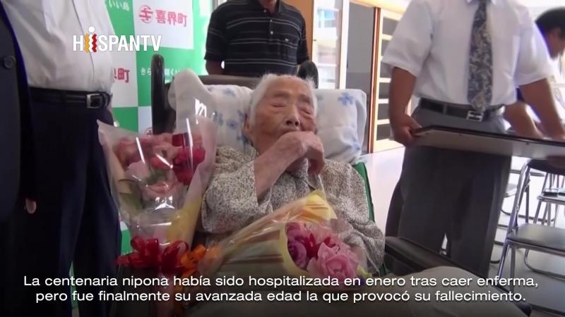 Murió a los 117 años la japonesa Nabi Tajima, la mujer más anciana del mundo