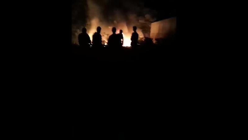 Бужаниново в огне