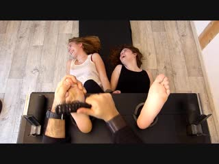 FrenchTickling - The Most Hysterical Girls Next Door Adelyne Sofia - Tickling-Videos.com