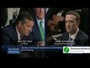 Ted Cruz empareda Mark Zuckerberg