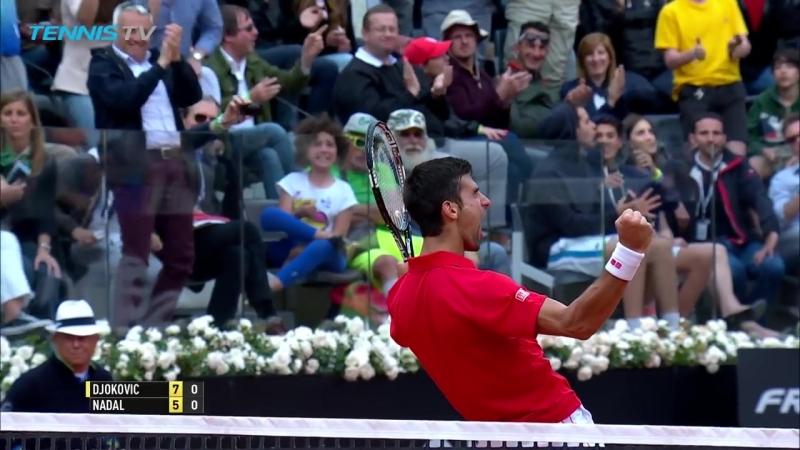 Rafa Nadal vs Novak Djokovic_ Greatest Rallies in Rome