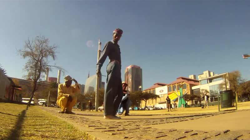 Skeleton movers of Soweto excerpt of DANCING CITY