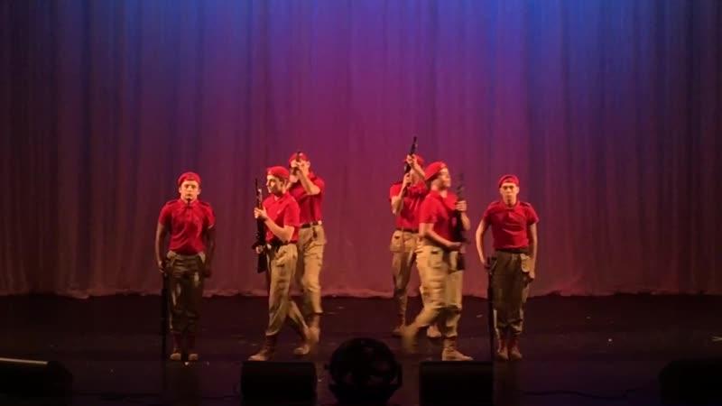 Выступление ВПК Цель в Архангельском Драматическом Театре Имени М В Ломоносова
