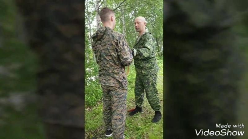 Сахалинский Артек-2018. Военно-патриотическая смена.