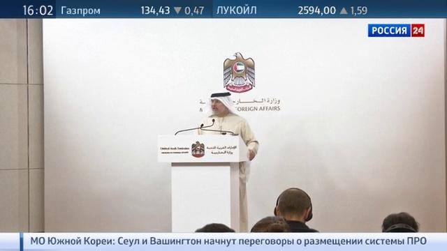 Новости на Россия 24 • Эмираты готовы отправить военных в Сирию