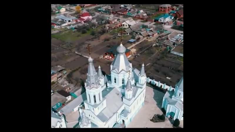 Храм св ап Петра и Павла в Брюховецкой