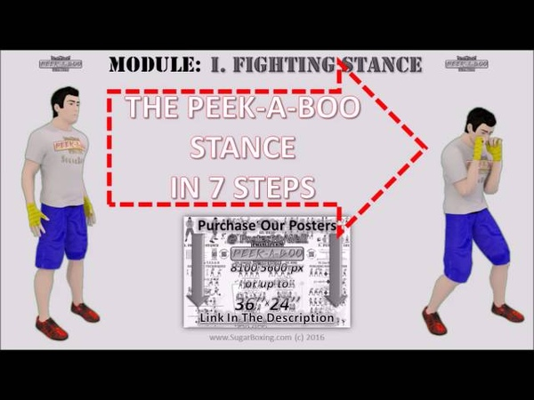 The Peek-a-boo Boxing Stance of MIke Tyson by Cus D'Amato: the PPPP, 01