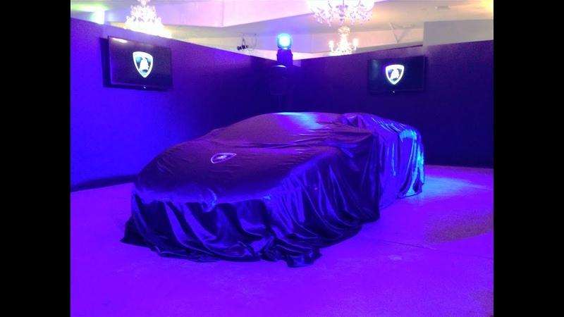 『 New Impact BluL Unveil 』New Lamborghini Aventador LP 800-4 50° Anniversario Impact BluL