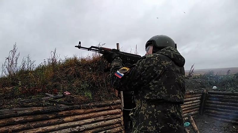 Стрельнул из АК калаша Уральский резерв 5