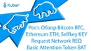 Рост. Обзор Bitcoin BTC, Ethereum ETH, Selfkey KEY, Request Network REQ, Basic Attention Token BAT.