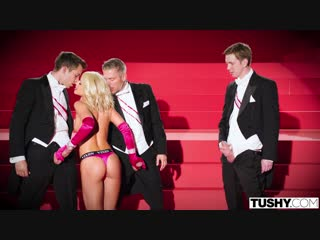 Adriana Chechik (Center Of Attention)[2019, Anal, DP, Bush, Doggystyle, Riding, Facial, Reverse Cowgirl, Spit Roast, 1080p]