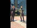 180323 Кюджин и Вэй @ Мини-фанмитинг перед «Music Bank».