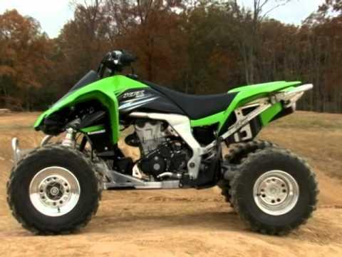 2011 Kawasaki KFX450R Test Part 2