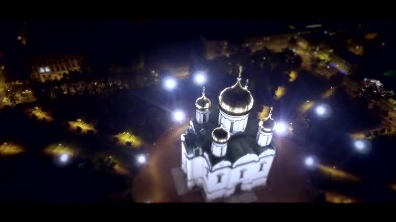 Город Пушкин с высоты птичьего полета