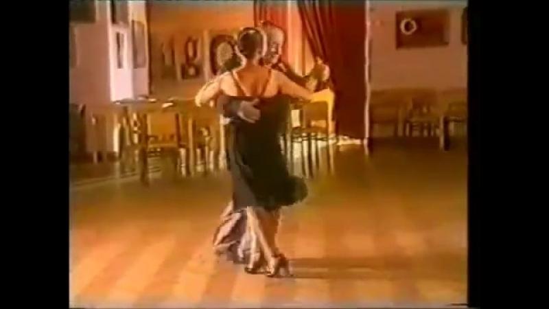 [Asi se baila milonga] - Pepito Avellaneda - Clase 13 Cruce a doble tiempo del hombre y..