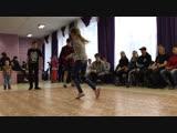 Winter jam, breaking первый круг. Bboy Mops, Арбузик vs ....