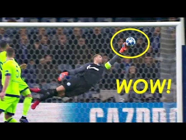 Best Saves Champions League Group Stage 2018