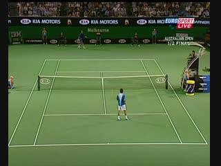 Australia-2005-Safin-Federer-4set