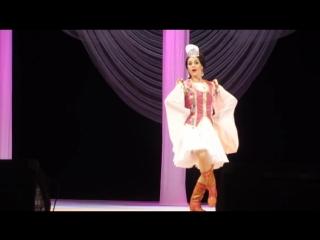 Мадина Гайнуллина - татар биюе