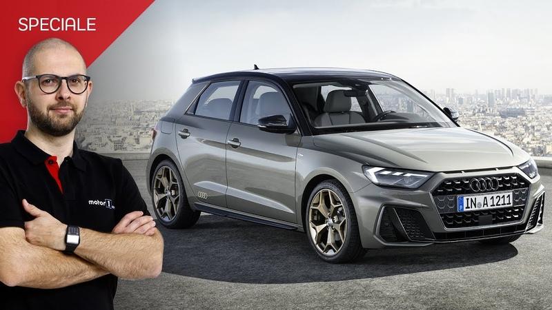 Nuova Audi A1 Sportback piccola con la faccia da Quattro