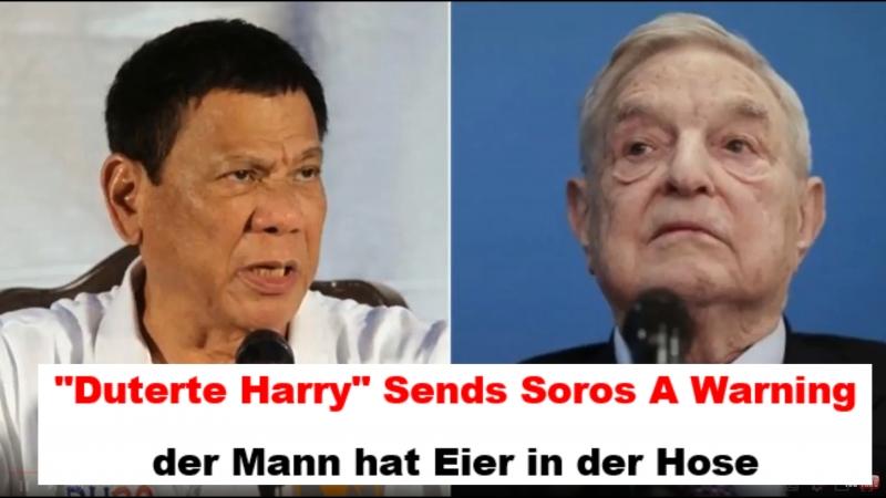 Duterte Harry Sends Soros A Warning