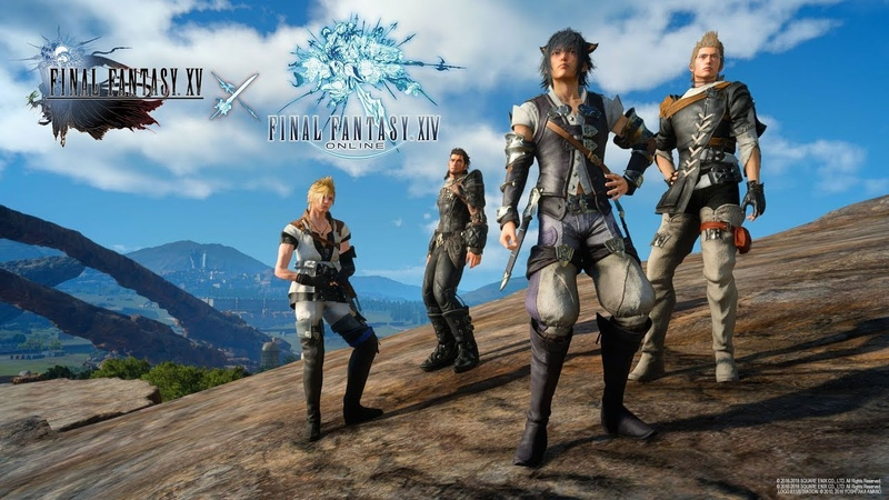 FINAL FANTASY XV x FINAL FANTASY XIV Online Collaboration Launch Trailer