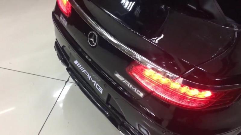 Мерседес-Бенц S63 coupe