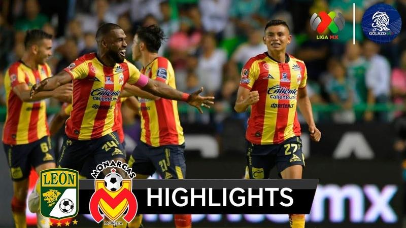 León vs Monarcas Morelia 1-2 | Resumen Goles | Liga MX (J12) AP2018 | 06102018 HD